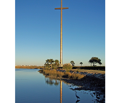Serenity Cross in St. Augustine Poster